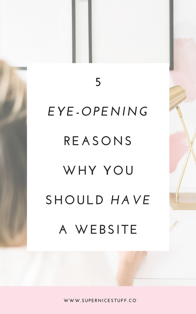 5 Eye-Opening Reasons Why You Should Have A Website