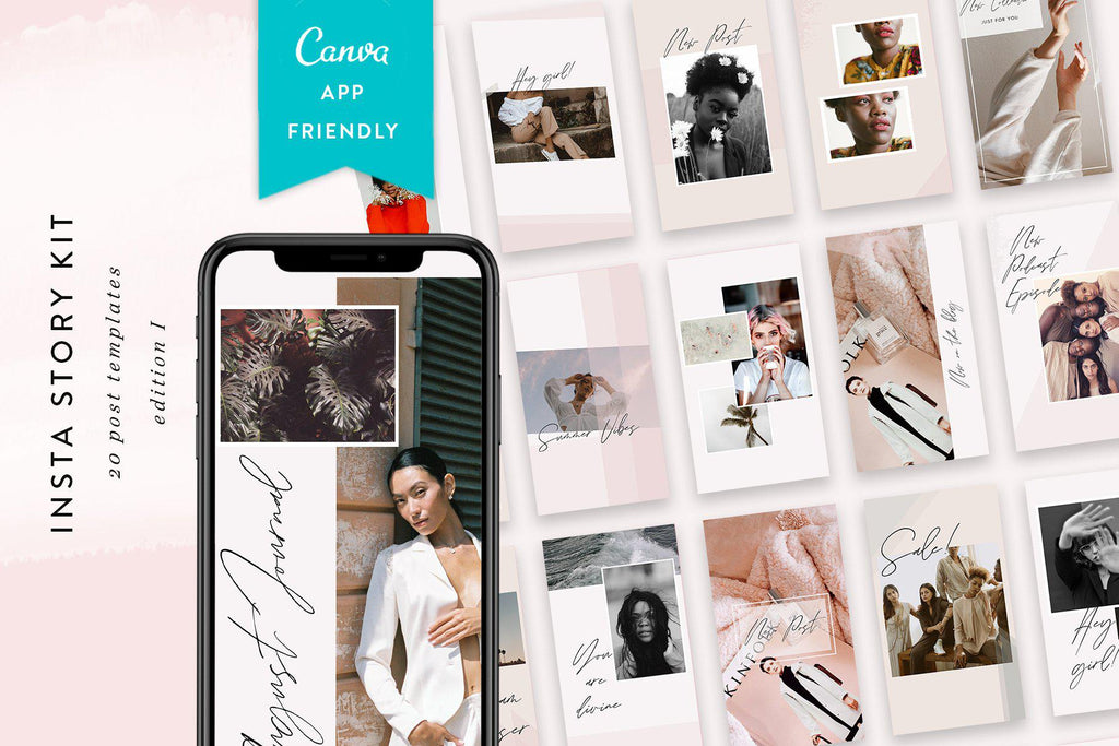 Instagram Story Templates / Edition 01