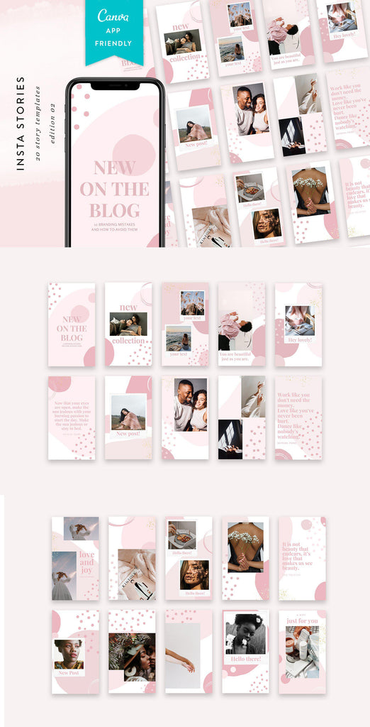 INSTAGRAM STORY TEMPLATES / EDITION 02