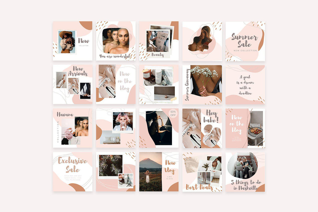 INSTAGRAM POST TEMPLATES / EDITION 04