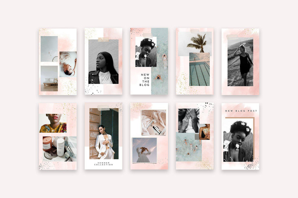 INSTAGRAM STORY TEMPLATES / EDITION 05