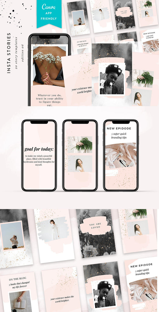 INSTAGRAM STORY TEMPLATES / EDITION 06