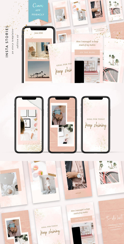 INSTAGRAM STORY TEMPLATES / EDITION 07