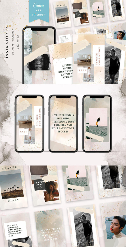 INSTAGRAM STORY TEMPLATES / EDITION 09