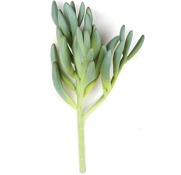 Succulent Pick - Green/Grey - 11 Inch
