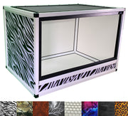 Reptile Enclosure Wraps - Zebra