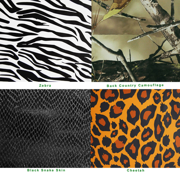 Available wraps for our Essential series reptiles enclosures