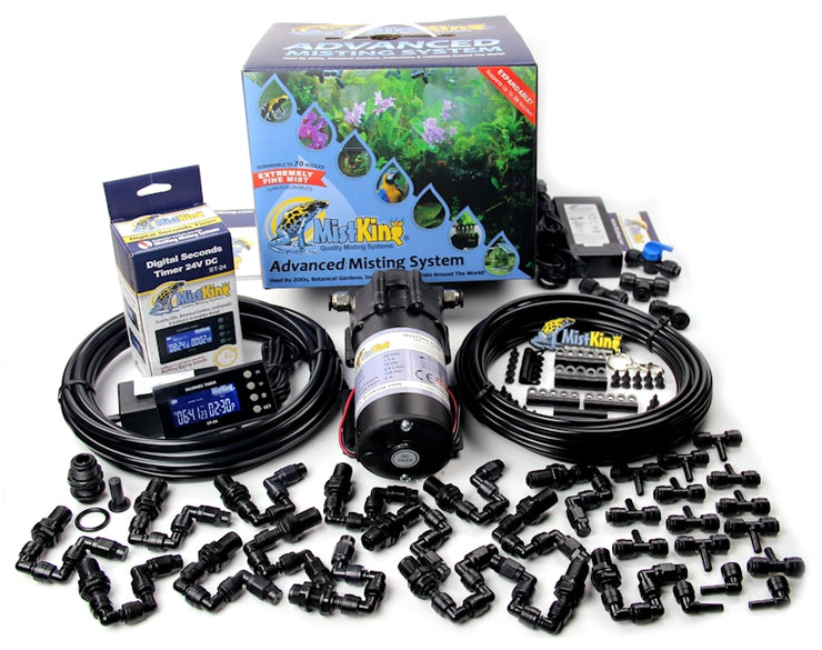 The Advanced Misting System contains everything you need to install