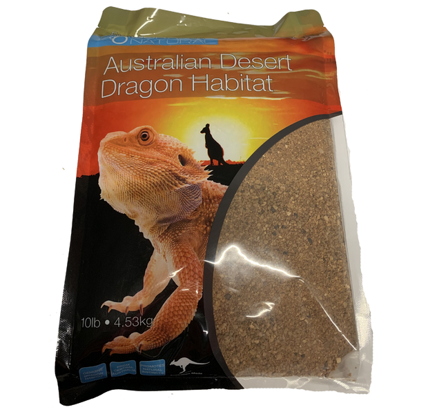 Australian Desert Dragon Habitat - Substrate from the Natural Home of the Bearded Dragon