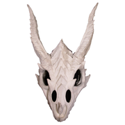 dragon skull large hide front