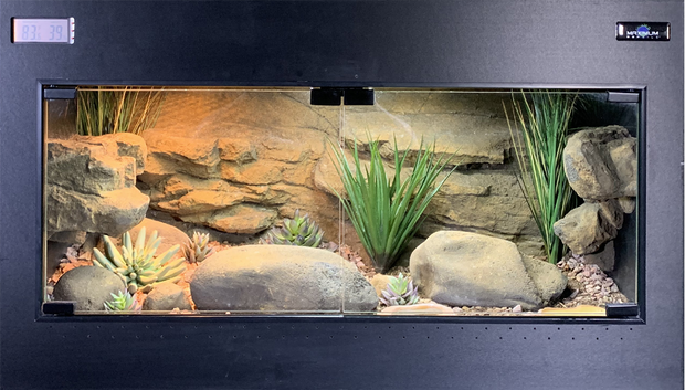 Fully Decorated Select 3 PVC Enclosure