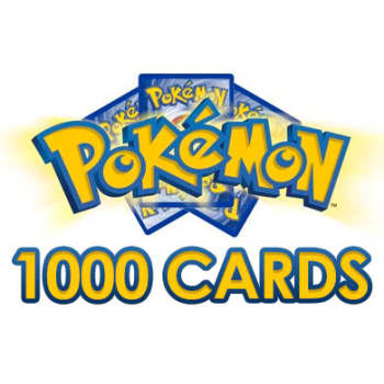 Pokemon Card Lot 1000 OFFICIAL TCG Cards