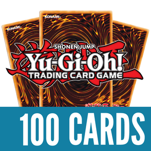 YU-GI-OH 100 CARD LOT - INCLUDES HOLOGRAPHIC CARDS