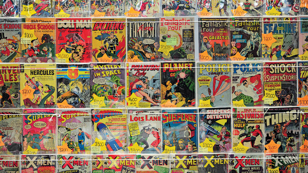 12 COMIC BOOK LOT - DC Marvel Independent - 1960's - Current!