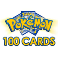 Pokemon Card Lot 100 OFFICIAL TCG Cards