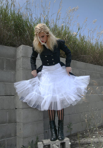 White Pixie Tutu Skirt