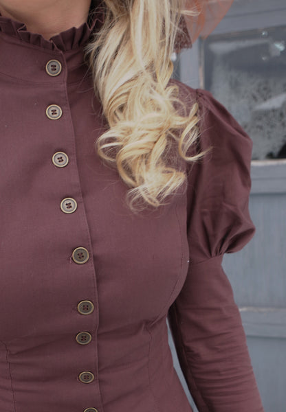 Polly Pry Steampunk Blouse