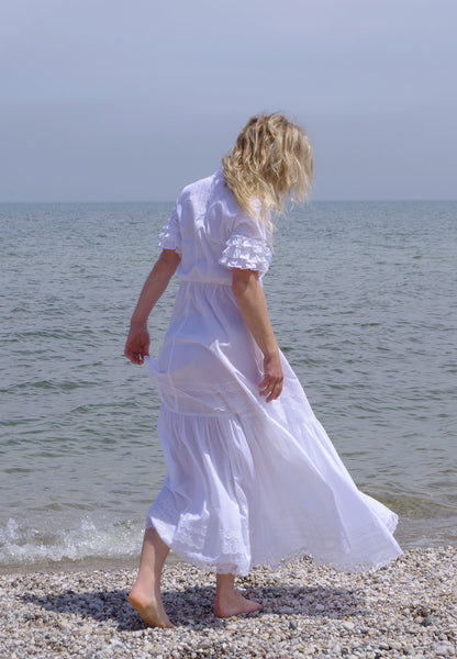 Sally's White Seaside Dress