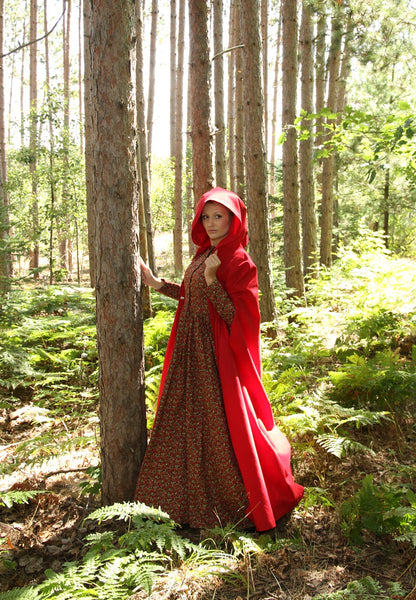 Enchanted Forest Cape and Hood