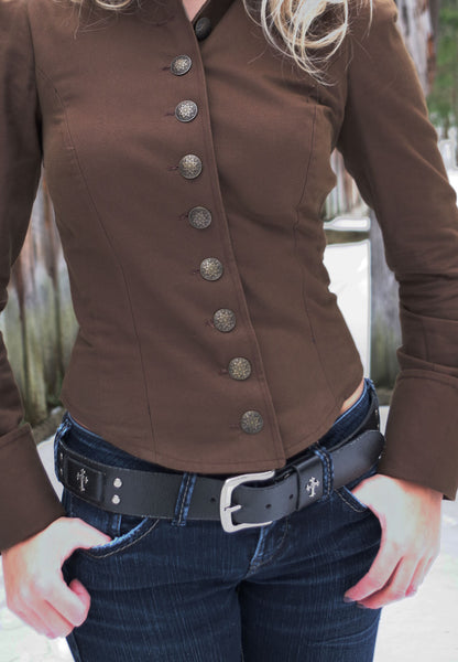 Twill Steampunk Jacket