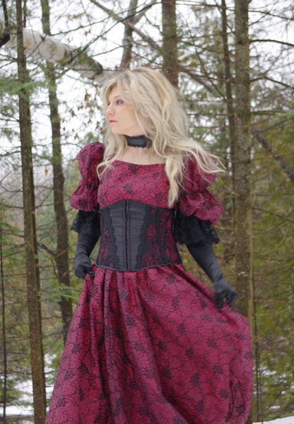 Scarlett's Steampunk Ball Gown