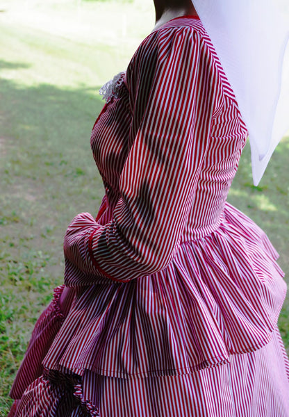 Nellie's Candystripped Afternoon Gown