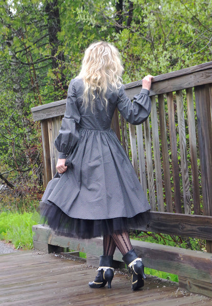 Steampunk Alice in Wonderland Dress