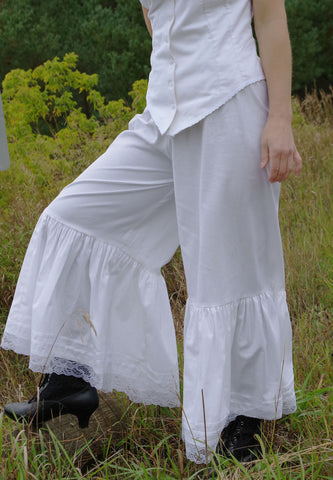 Flared Cotton Petticoat Pantaloons