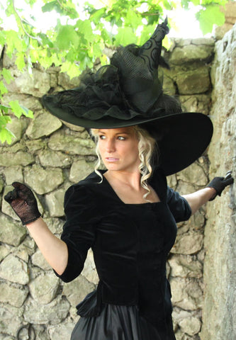 Merry Widow Witch Hat