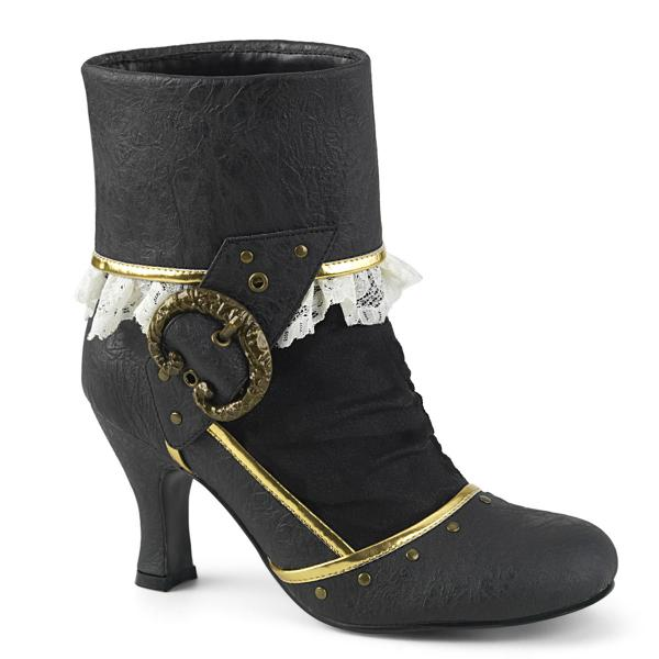 Two-Toned Mad Tea Party Boots