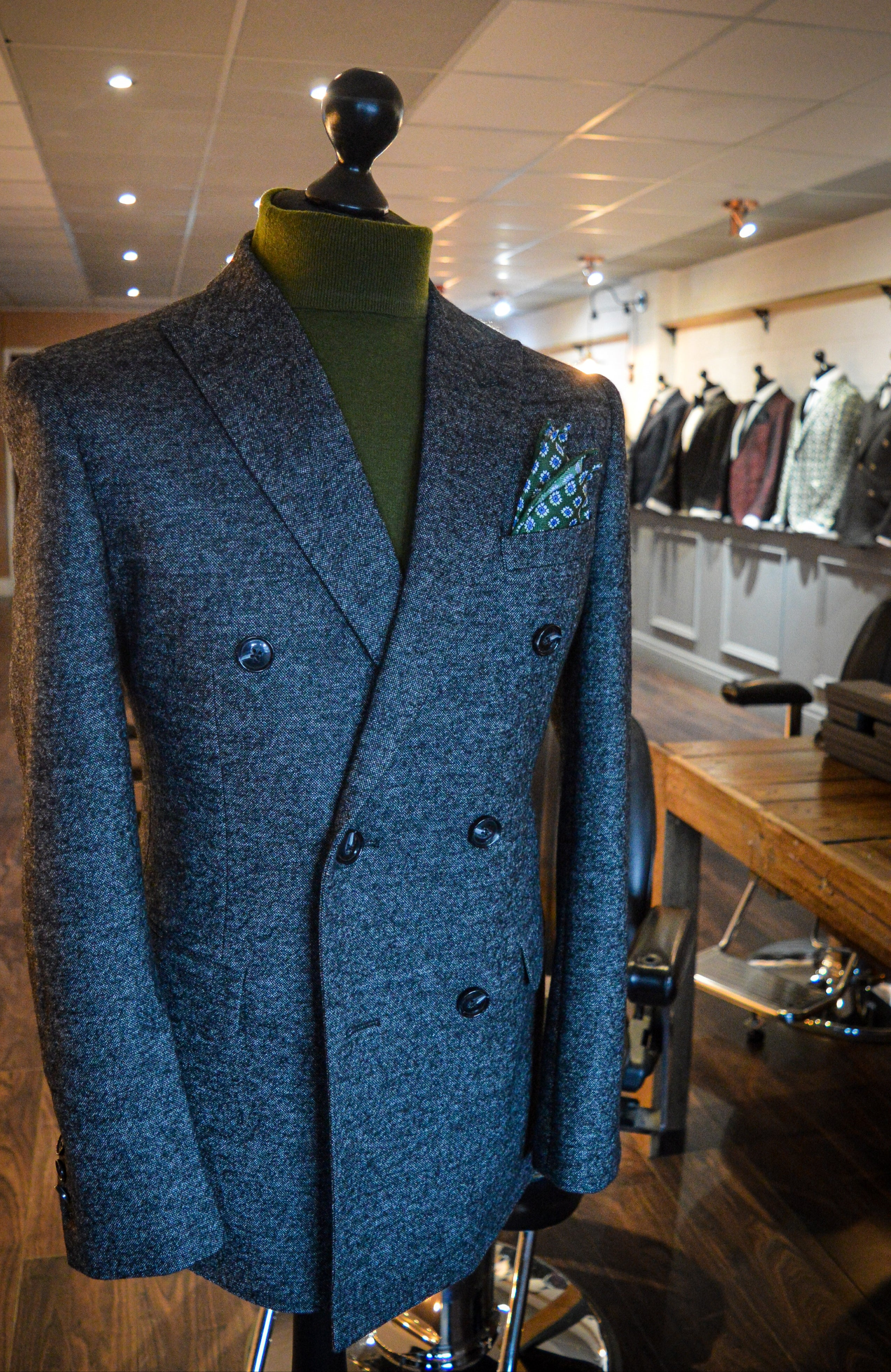 The Pebble Double Breast Blazer