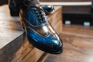 Marble Patina Brogue