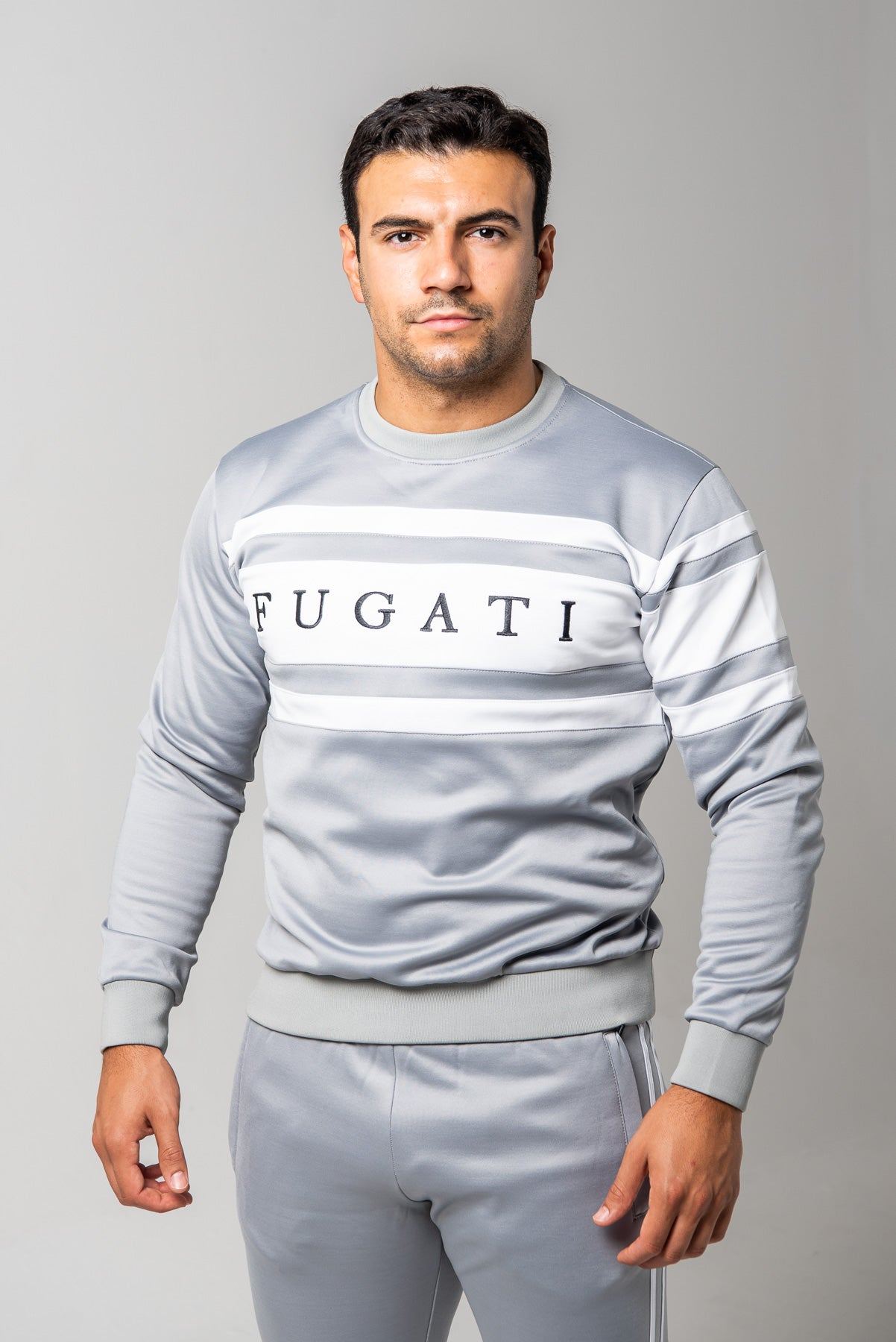 Grey Tracksuit Jumper