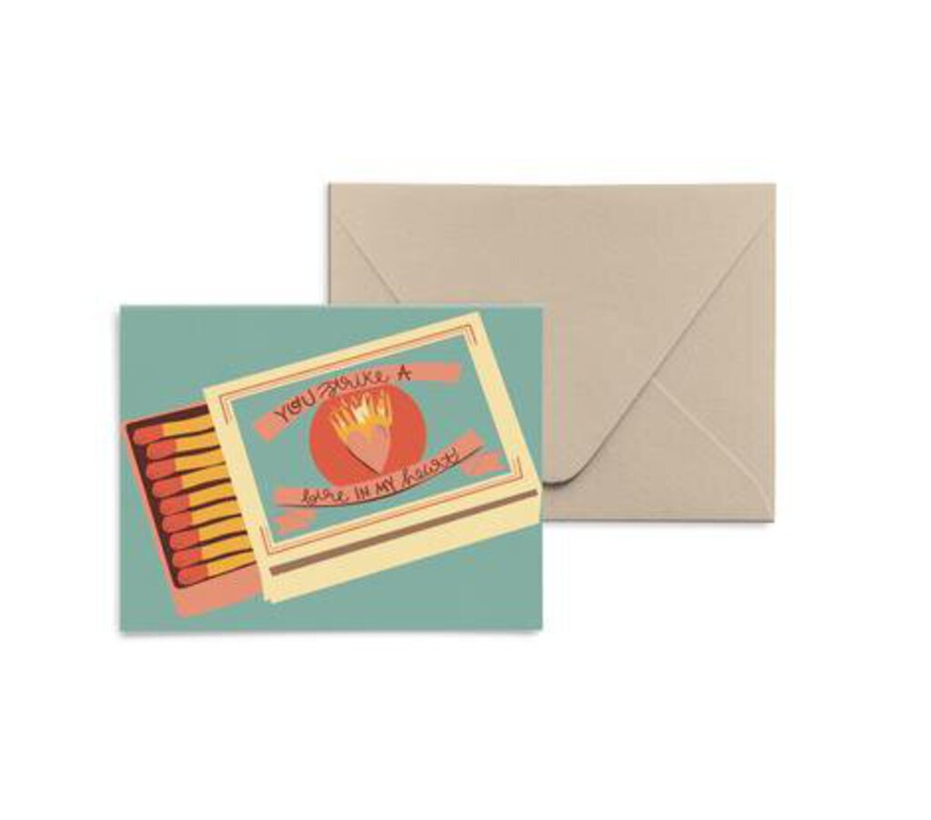 Fire In My Heart Card