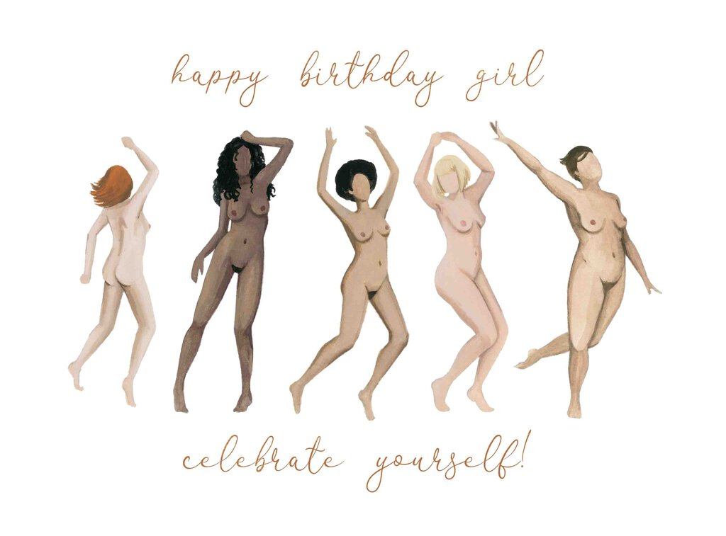 Happy Birthday Celebrate Yourself Card