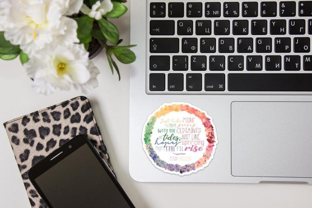 """Still We Rise"" Quote Decal, mini"