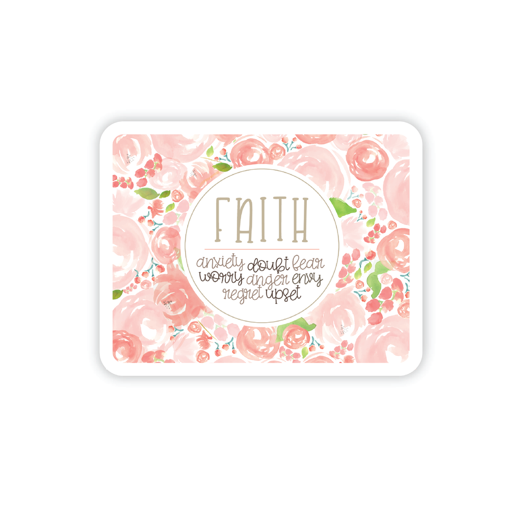 Faith over Fear Decal, mini