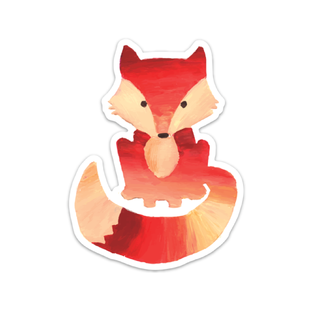 Fox Decal, mini
