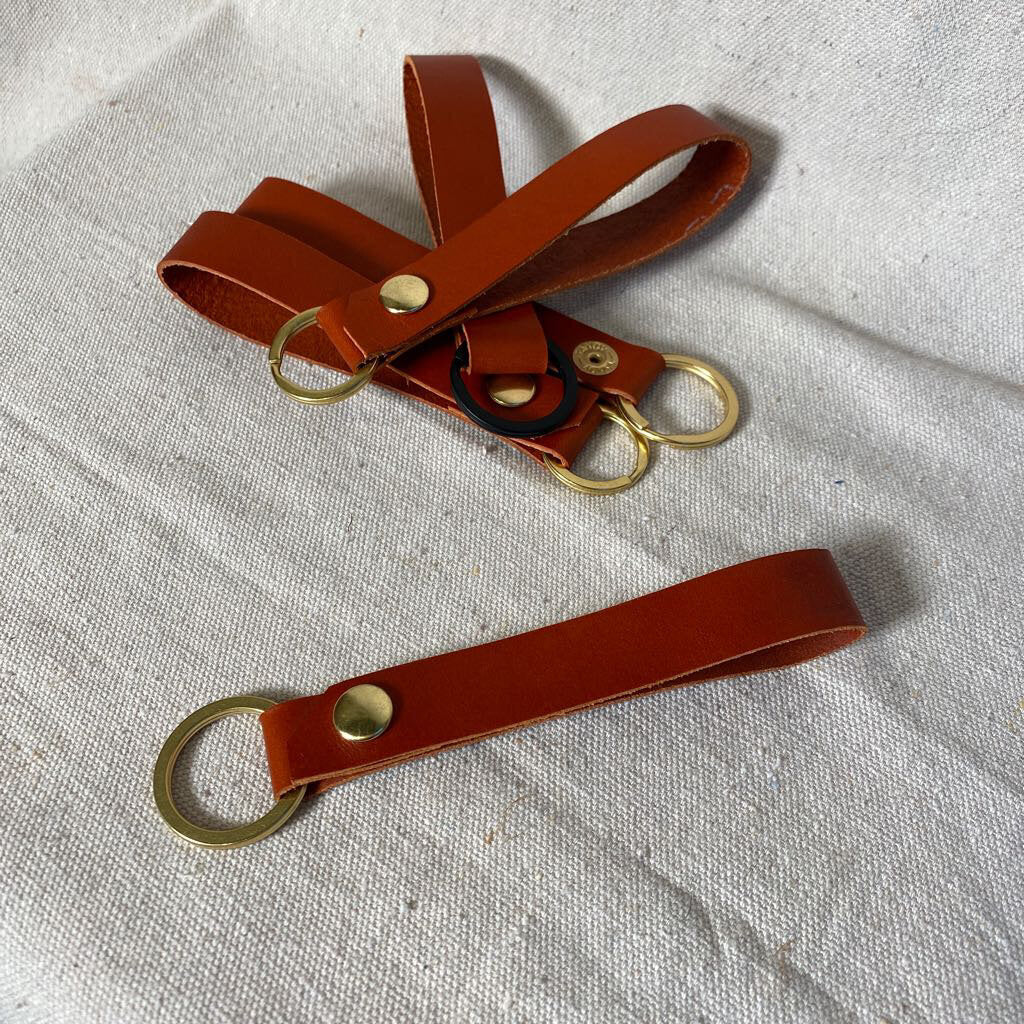 Keychain - Standard Leather