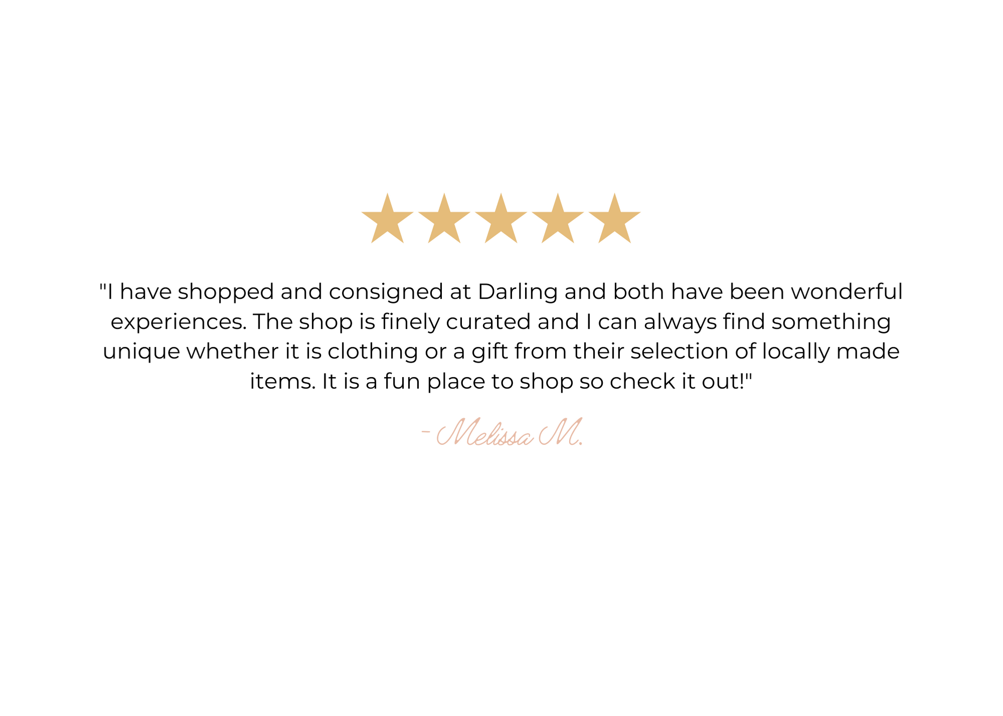 Reviews from customers