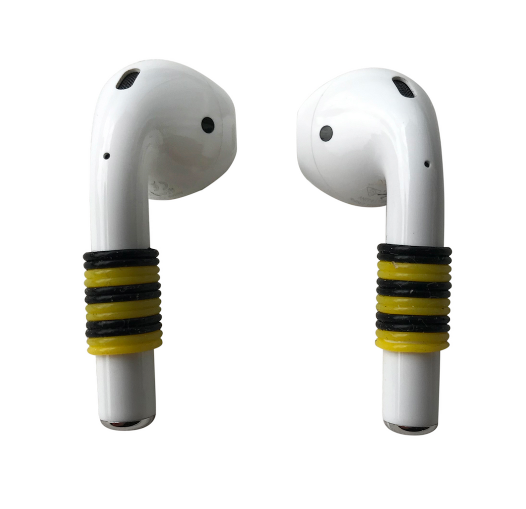 YELLOW BLACK Earpod Basics Schmuck