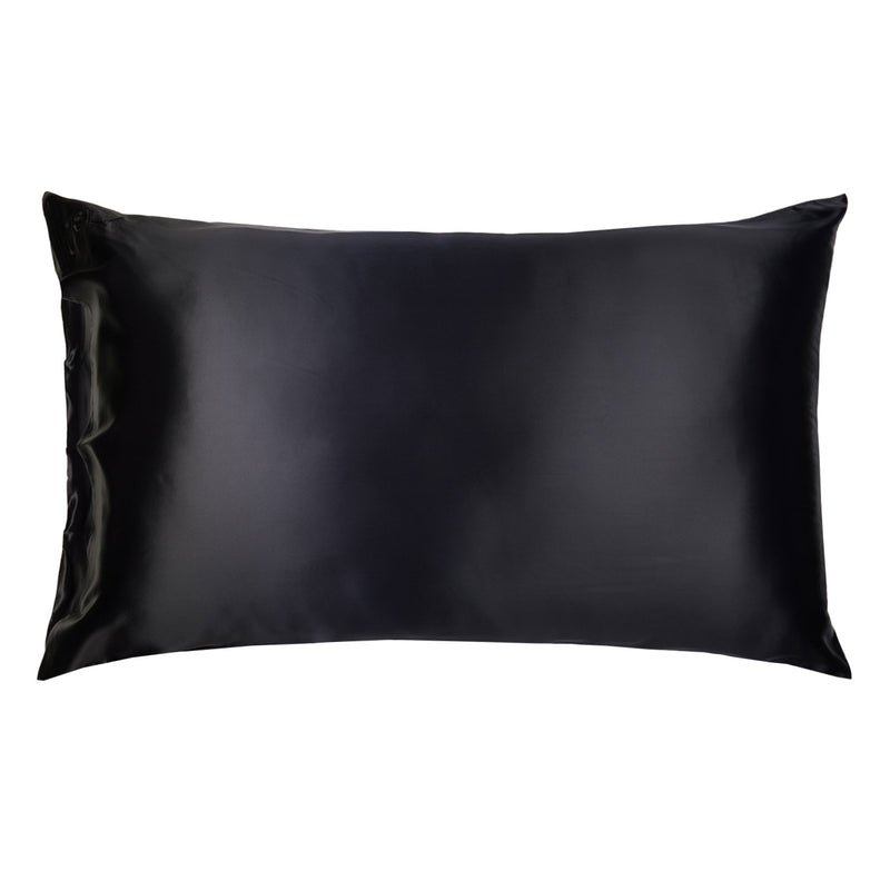 Silk Pillowcase 22mm (Black)