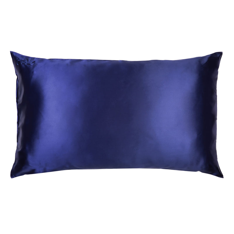 Silk Pillowcase 22mm (Blue)