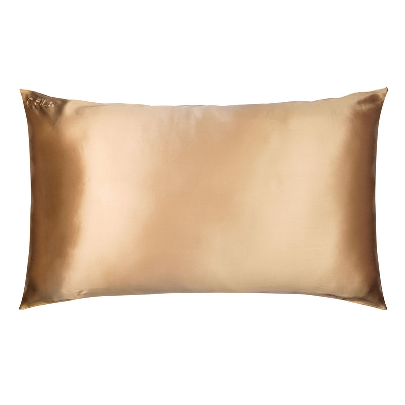 Silk Pillowcase 19mm (Champagne)