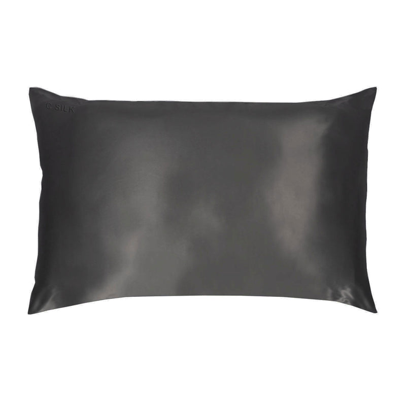 Silk Pillowcase 22mm (Dark Grey)