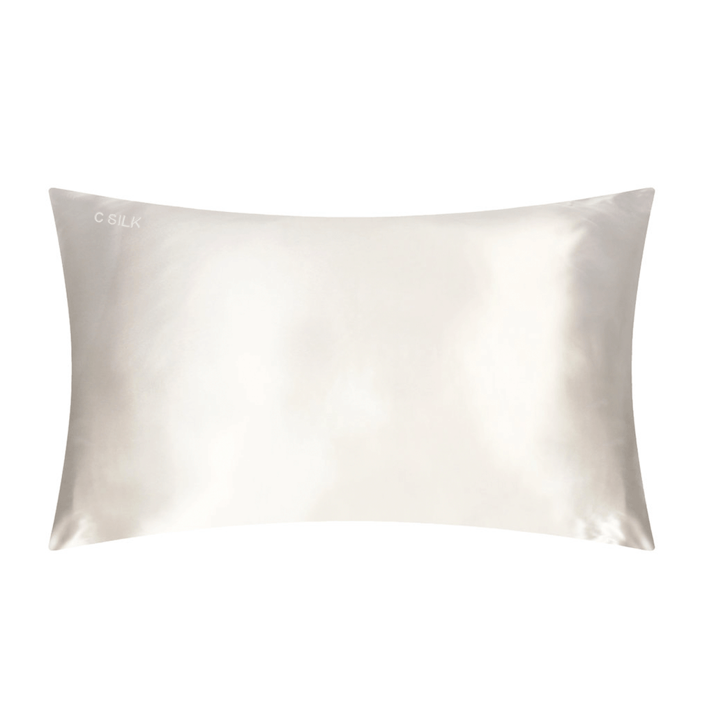 Silk Pillowcase 22mm (White)
