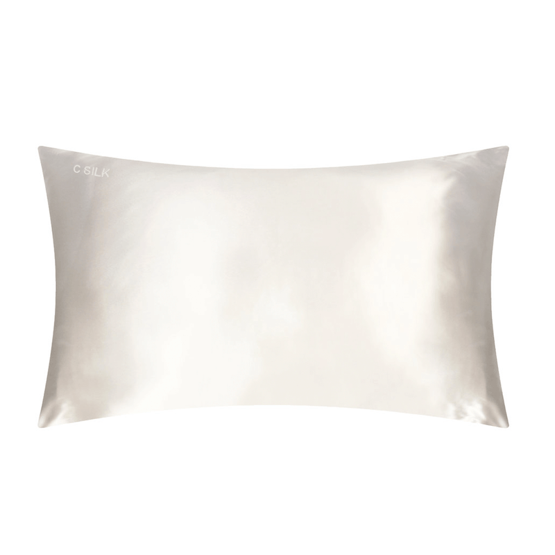Silk Pillowcase 19mm (White)