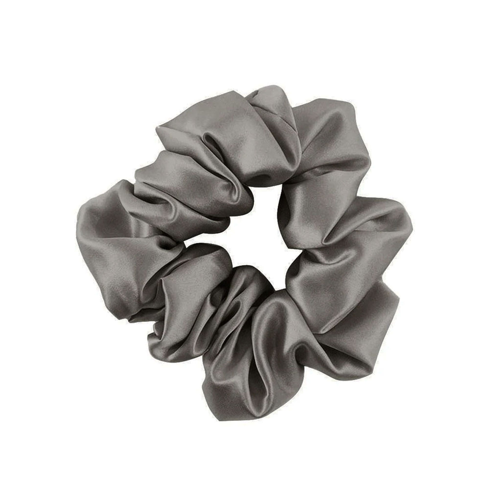 Scrunchies Ponytail Band (Silver)