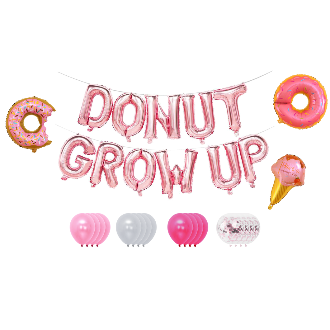 Decoratie Verjaardag (Donut Grow Up)