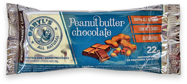Daryl's All Natural Performance Line Peanut Butter Chocolate Protein Bar